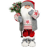 Дед Мороз в Свитере со Снежинкой, 47 см