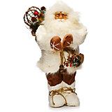 Дед Мороз в Белой Шубе с Мешком
