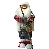 Дед Мороз с Посохом в Свитере