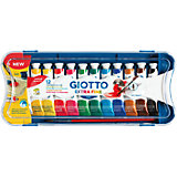 GIOTTO EXTRA FINE POSTER PAINT, 12 цв.