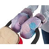 Муфта-рукавички для маминых рук Mammie, хризантемы