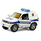 """Коллекционная машинка Пламенный мотор """"По дорогам России"""" Mitsubishi Полиция ДПС"""