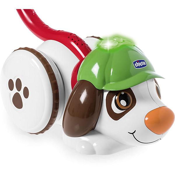 """Музыкальная игрушка-каталка Chicco """"Собака Шерлок"""""""
