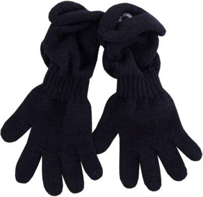 Перчатки Wojcik для девочки - черный