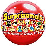 Мягкая игрушка Surprizamals в капсуле, серия 4