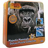 """Пазл """"3 в одном"""" слон, горилла и дельфин"""