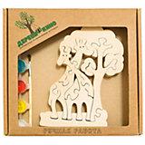 Развивающий пазл Жирафы и дерево