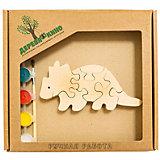 Развивающий пазл Бронтозавр 2