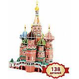 3D пазл Храм Василия Блаженного