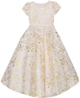 Нарядное платье Vitacci для девочки - желтый