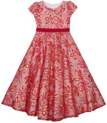 Нарядное платье Vitacci для девочки - красный