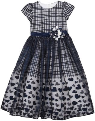 Нарядное платье Vitacci для девочки - синий