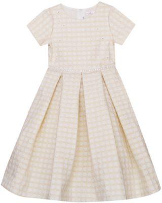 Нарядное платье Vitacci для девочки - бежевый