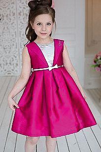Платье нарядное Barbie™ для девочки - розовый