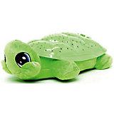 """Мягкая игрушка-ночник Мульти-Пульти """"Черепаха"""" 30 см, зеленая"""