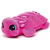 """Мягкая игрушка-ночник Мульти-Пульти """"Черепаха"""" 30 см, розовая"""