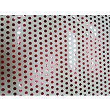 Крафт бумага Красный горох для сувенирной продукции в листах
