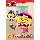 """Белый картон Академия Групп """"Play-Doh"""", 10 листов"""