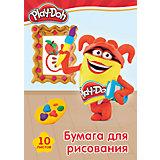 """Бумага для рисования Академия Групп """"Play-Doh"""", 10 листов"""