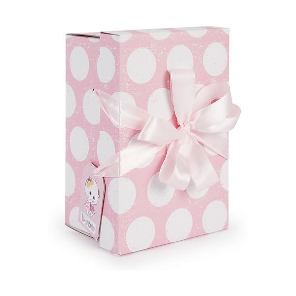 Мягкая игрушка Budi Basa Кошка Ли-Ли Baby с розовым сердечком, 20 см