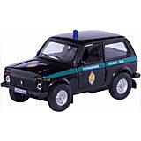 """Коллекционная машинка Autotime """"Lada 4х4 Пограничная служба ФСБ"""" 1:36"""