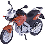 """Коллекционный мотоцикл Autotime """"BMW F650CS"""" 1:18"""