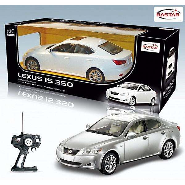 """Радиоуправляемая машина Rastar """"Lexus IS 350"""" 1:24, серебристая"""