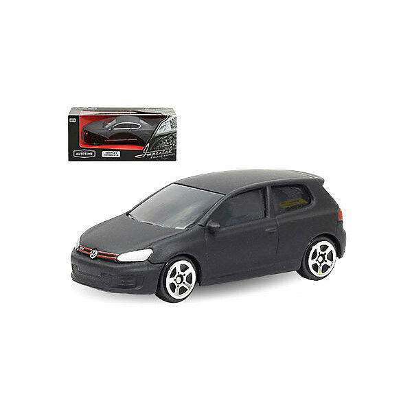 "Коллекционная машинка Autotime ""Black Edition-3"" Volkswagen Golf GTI"