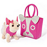 Мягкая игрушка Simba Chi-Сhi Love Собачка Чихуахуа с розовой  сумочкой, 20 см
