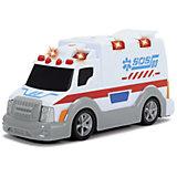Машинка Dickie Машина скорой помощи со светом и звуком, 15 см
