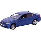 """Металлическая машинка RMZ City """"BMW M5"""" 1:32, голубой матовый"""