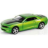 """Металлическая машинка RMZ City """"Chevrolet Camaro"""" 1:32, зеленый металлик"""