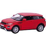 """Металлическая машинка RMZ City """"Range Rover Evoque"""" 1:32, красный матовый"""
