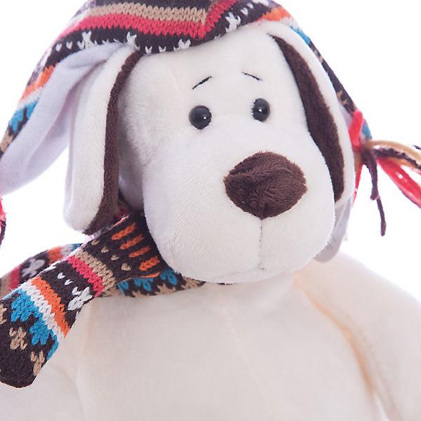 """Мягкая игрушка TEDDY """"Собака в шапке"""", 24 см"""