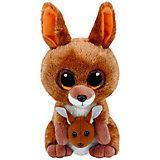 "Мягкая игрушка Ty Inc ""Beanie Boo's"" Кенгуру Kipper, 15 см"