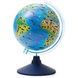 Глобус Зоогеографический (Детский) 210мм