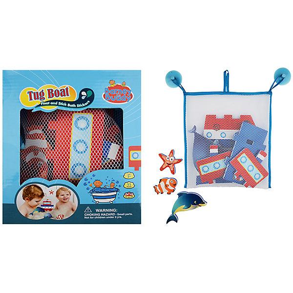 """Стикеры для ванны Barney&Buddy """"Построй пароходик"""", 10 деталей"""