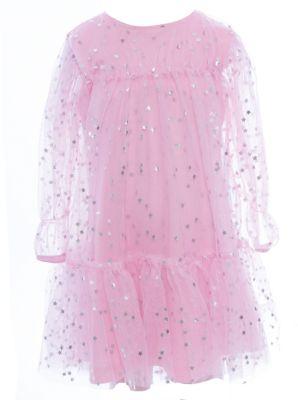 Платье нарядное Bell Bimbo для девочки - розовый