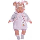 Кукла-пупс Llorens Роберта в розовом платье, 33 см