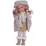 Классическая кукла Llorens Хелена в сером пальто, 42 см