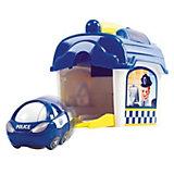 """Игровой набор с машинкой Playgo """"Полицейский участок"""""""