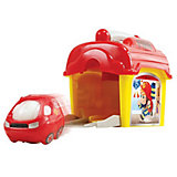 """Игровой набор с машинкой Playgo """"Пожарная станция"""""""