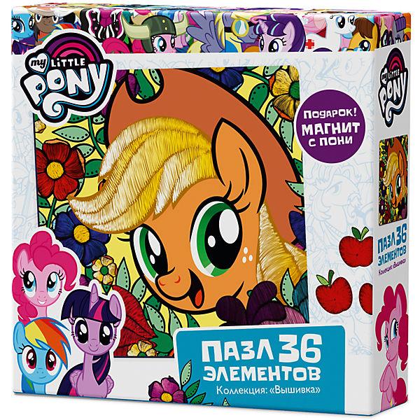 "Пазл Origami ""My little pony"" 36 элементов + магнит Эпплджек"