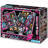 "Подарочный набор 4 в 1 Origami ""Monster High"" Лото, мемо, домино и пазлы"