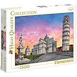 """Пазл Clementoni """"Пизанская башня"""", 1500 элементов"""