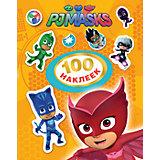 Герои в масках. 100 наклеек (оранжевый)