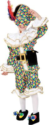 """Карнавальный костюм Veneziano """"Арлекино"""" для мальчика - разноцветный"""