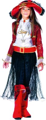 """Карнавальный костюм Veneziano """"Леди Пират"""" для девочки - разноцветный"""