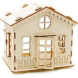 """Сборная деревянная модель Хэппикон """"ХэппиДом. Дачный домик"""""""