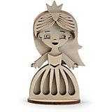"""Сборная деревянная модель Lemmo """"Маленькая принцесса"""", подвижная"""